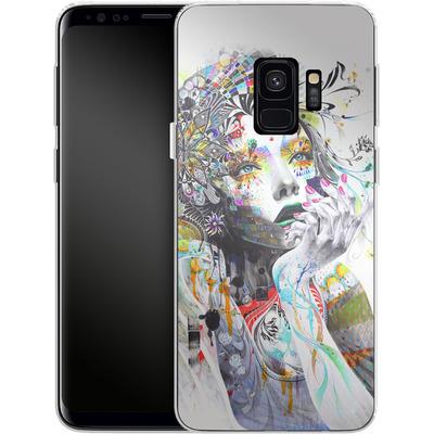 Samsung Galaxy S9 Silikon Handyhuelle - Circulation von Minjae Lee