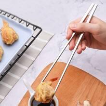 5pairs Stainless Steel Chopsticks