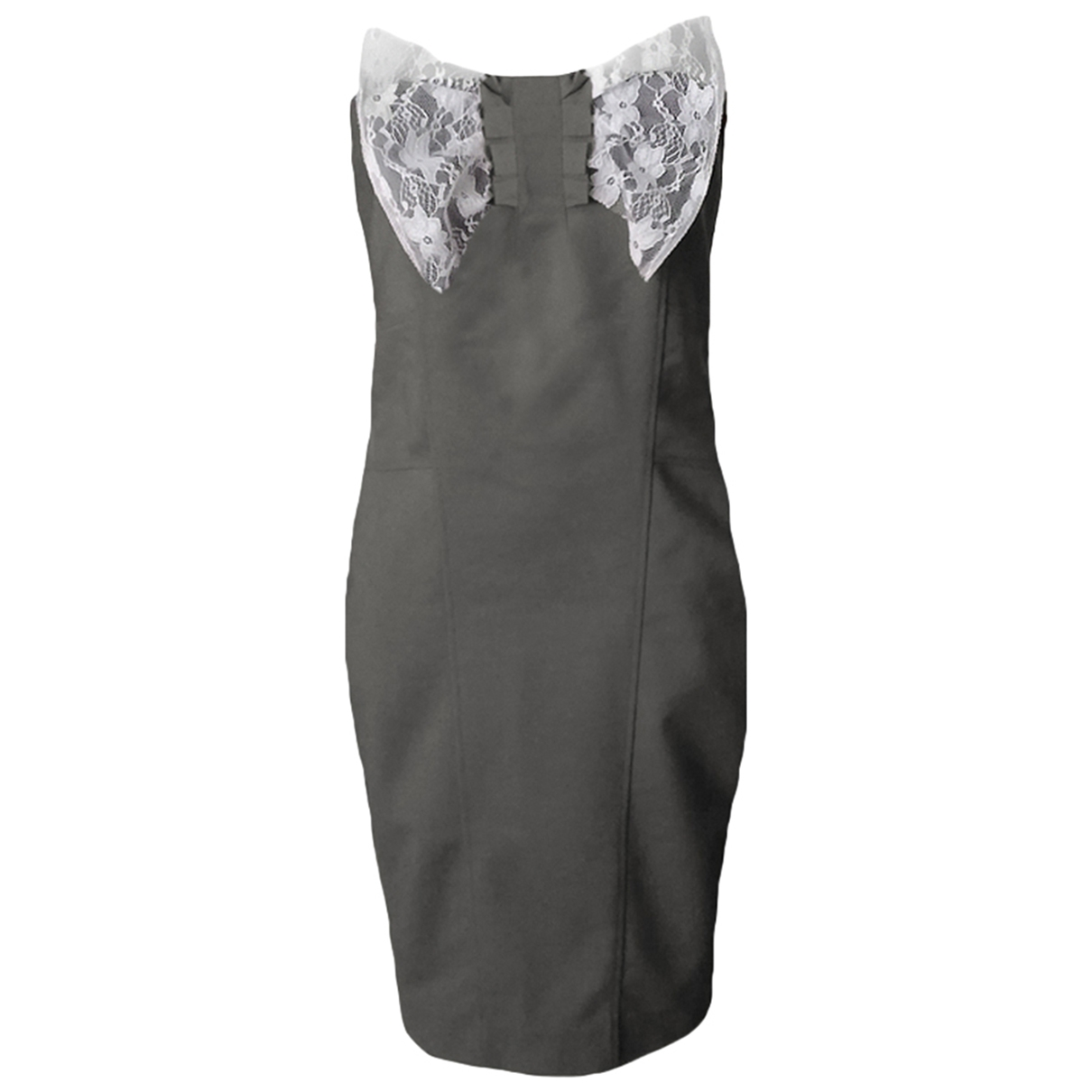 Patrizia Pepe \N Beige Cotton dress for Women 44 IT