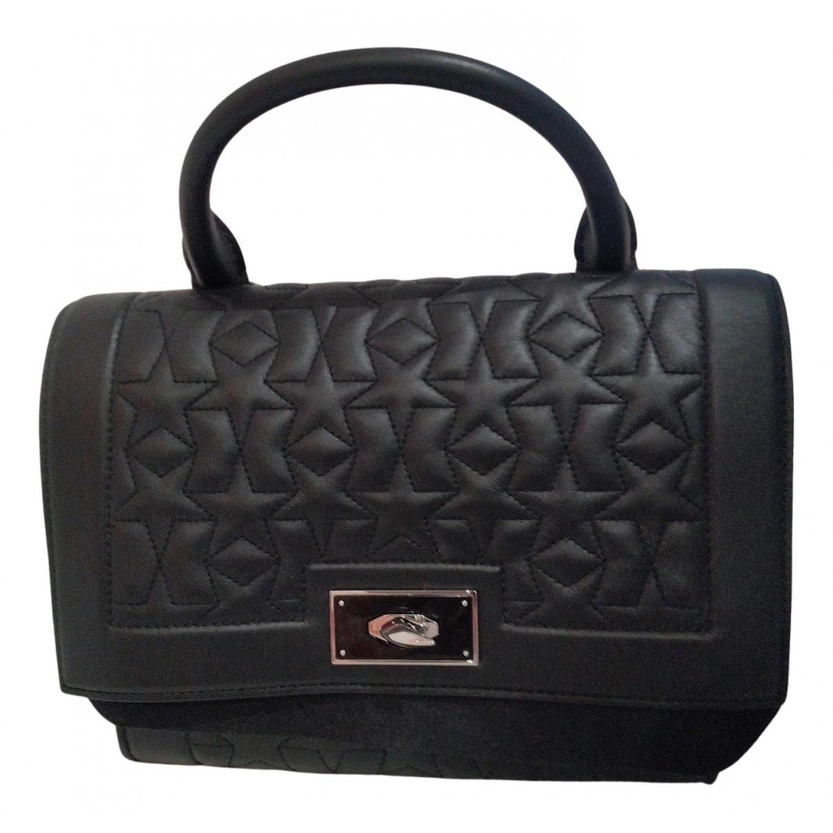 Givenchy Shark Handtasche in  Schwarz Leder