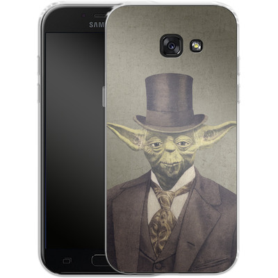 Samsung Galaxy A5 (2017) Silikon Handyhuelle - Sir Yodington von Terry Fan