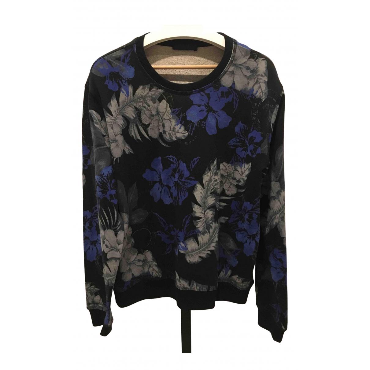 Trussardi N Black Cotton Knitwear & Sweatshirts for Men XXL International
