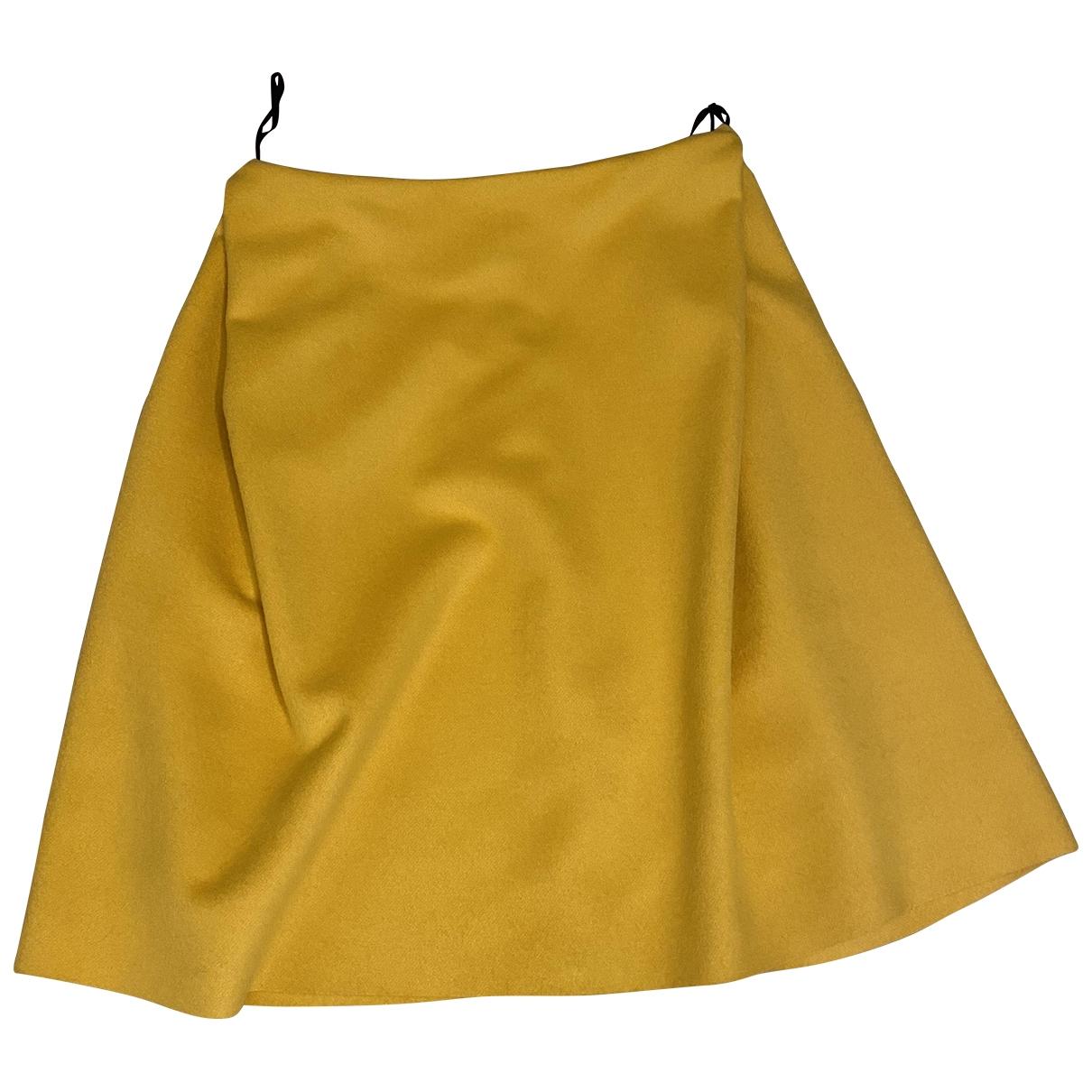 Roberto Musso \N Rocke in  Gelb Wolle