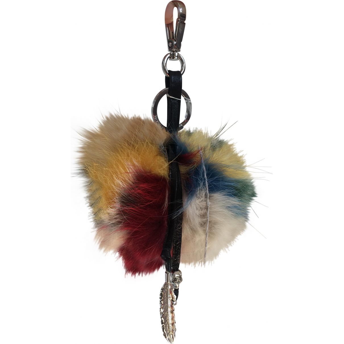 Zadig & Voltaire Fall Winter 2019 Multicolour Fox Bag charms for Women \N