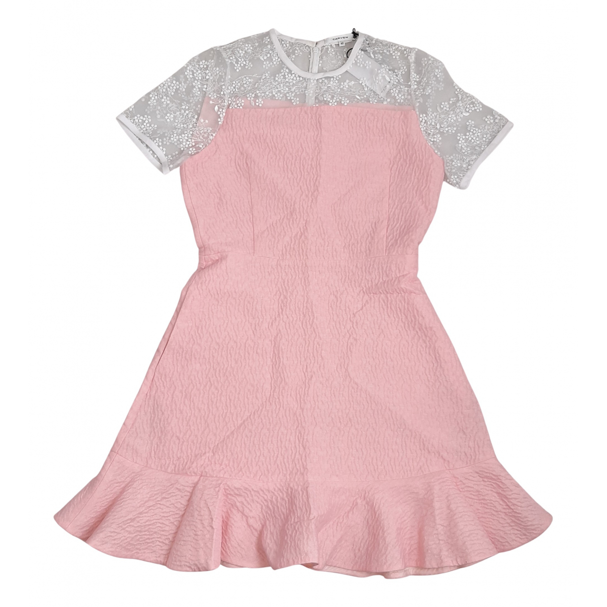 Carven \N Kleid in  Rosa Synthetik