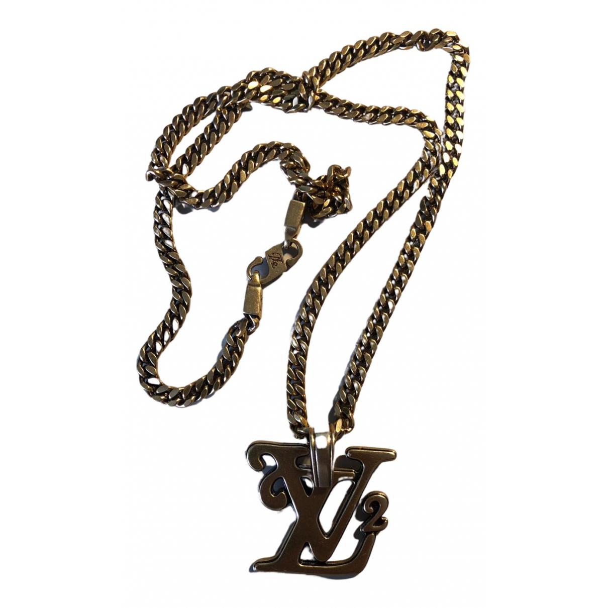 Louis Vuitton - Bijoux   pour homme en acier - dore
