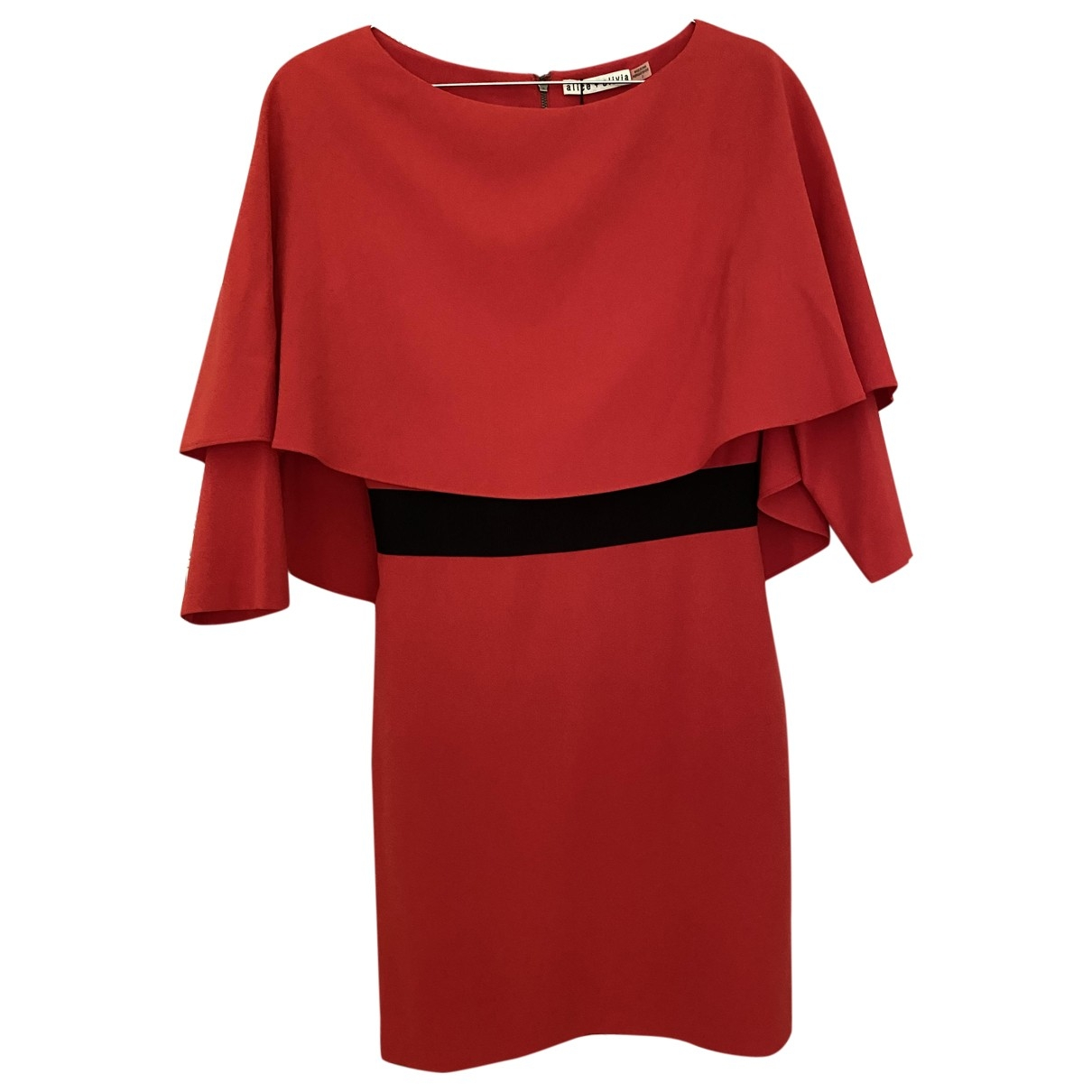 Alice & Olivia \N Kleid in  Rot Polyester