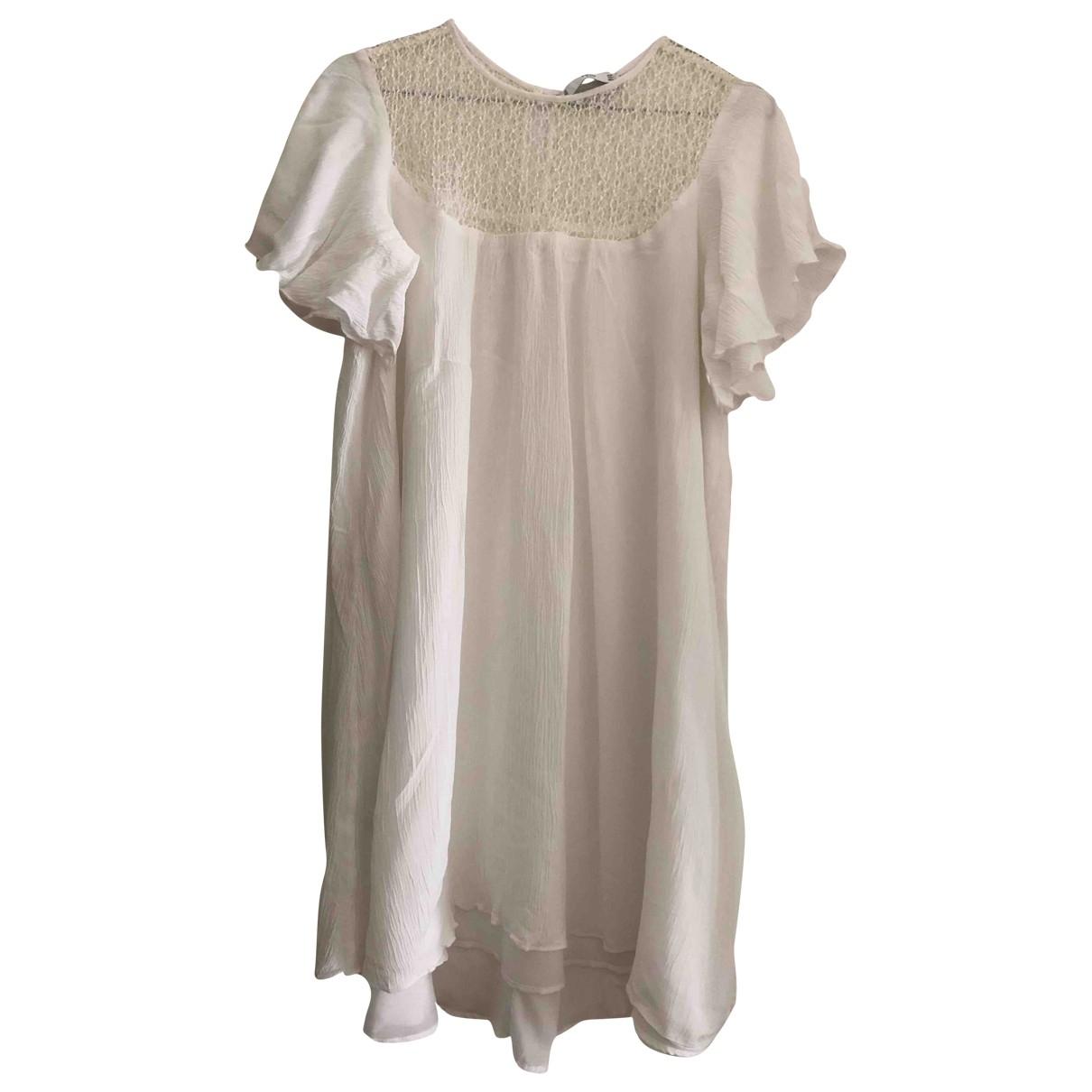 Mango \N White dress for Women 4 US