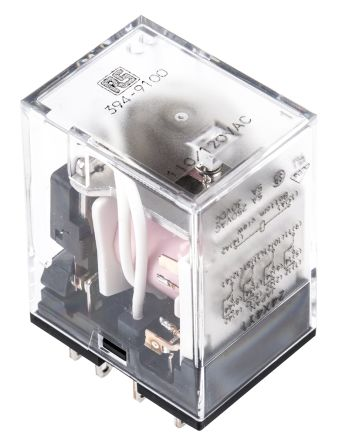 RS PRO , 120V ac Coil Non-Latching Relay 4PDT, 5A Switching Current Plug In, 4 Pole
