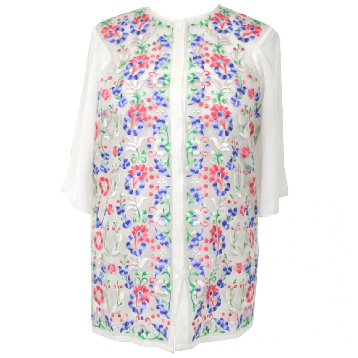 Vilshenko - Top   pour femme en soie - multicolore