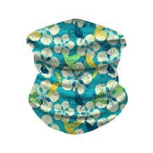 Floral Pattern Sun Protection For The Face