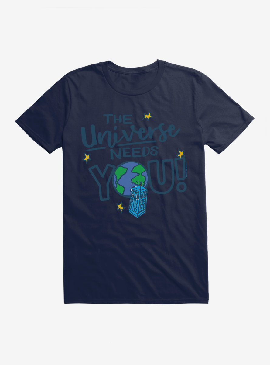 Doctor Who TARDIS You Are Needed T-Shirt