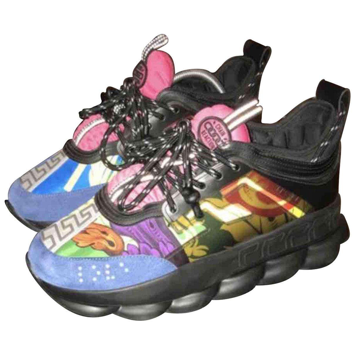 Versace - Baskets Chain Reaction pour homme - multicolore