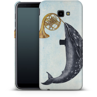 Samsung Galaxy J4 Plus Smartphone Huelle - Whale Song von Terry Fan