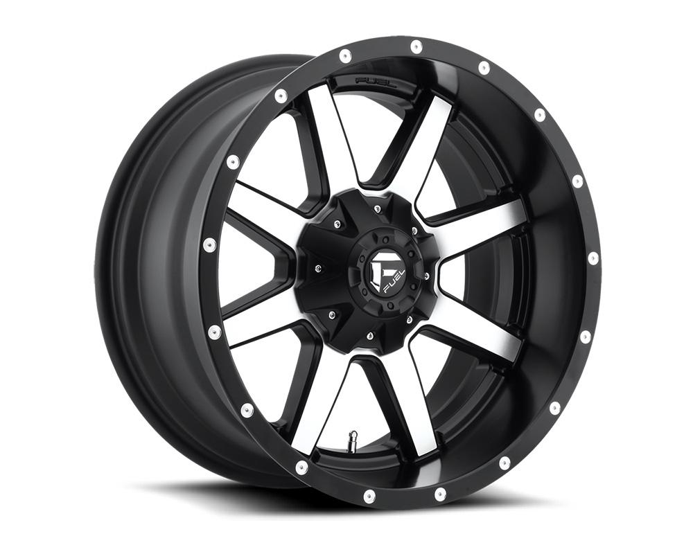 Fuel D537 Maverick Black & Machined 1-Piece Cast Wheel 20x10 8x170 -18mm