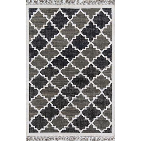 Novogratz By Momeni Greyback Rectangular Indoor Rugs, One Size , Black