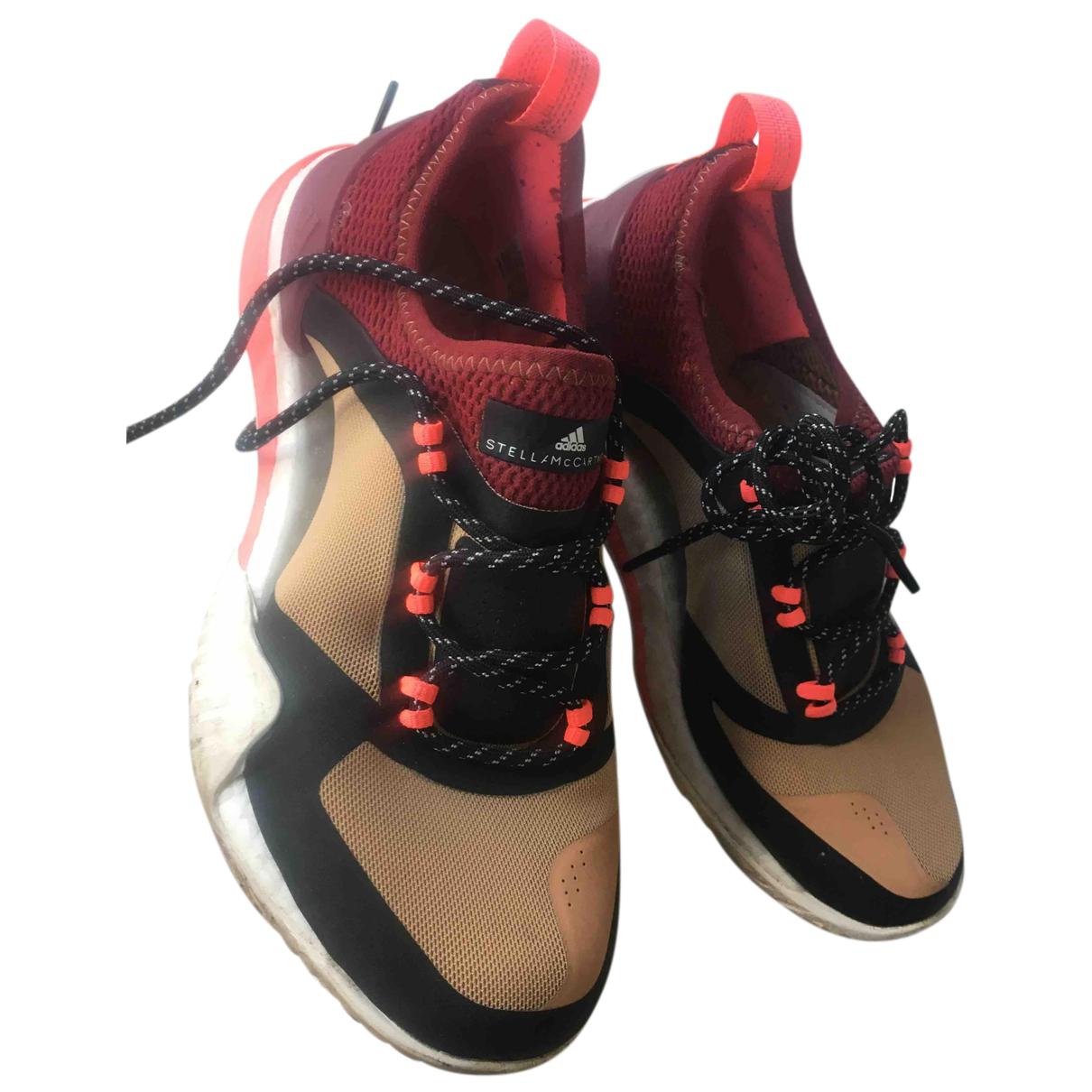 Stella Mccartney Pour Adidas \N Sneakers in  Beige Kautschuk