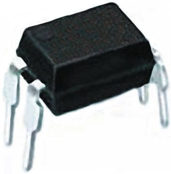 Vishay , VO615A-8X001 DC Input Phototransistor Output Optocoupler, Through Hole, 4-Pin DIP (5)