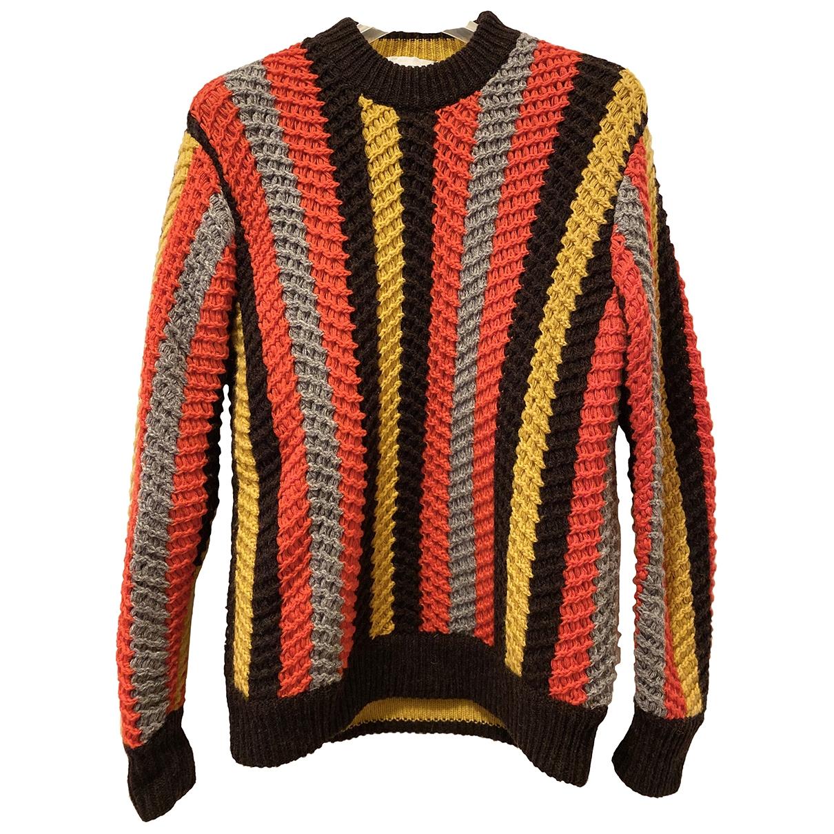 Salvatore Ferragamo \N Pullover.Westen.Sweatshirts  in  Bunt Kaschmir