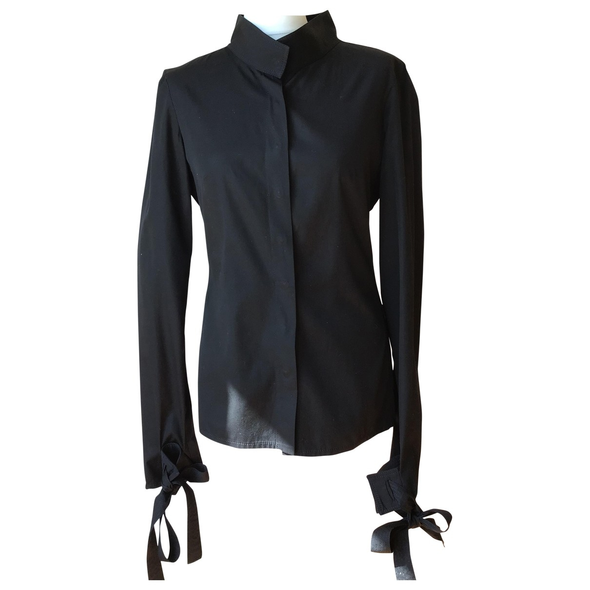 Gucci \N Black Cotton  top for Women 42 IT