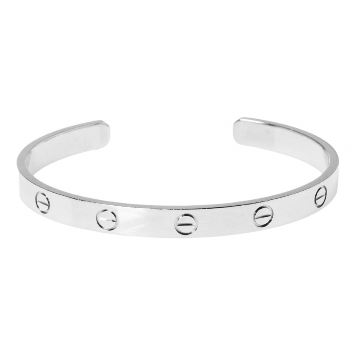 Cartier Love Armband in Weissgold