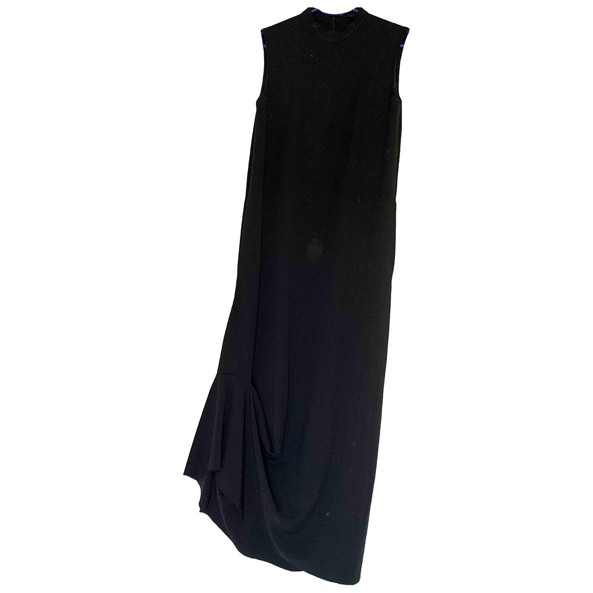 Cos \N Kleid in  Schwarz Synthetik