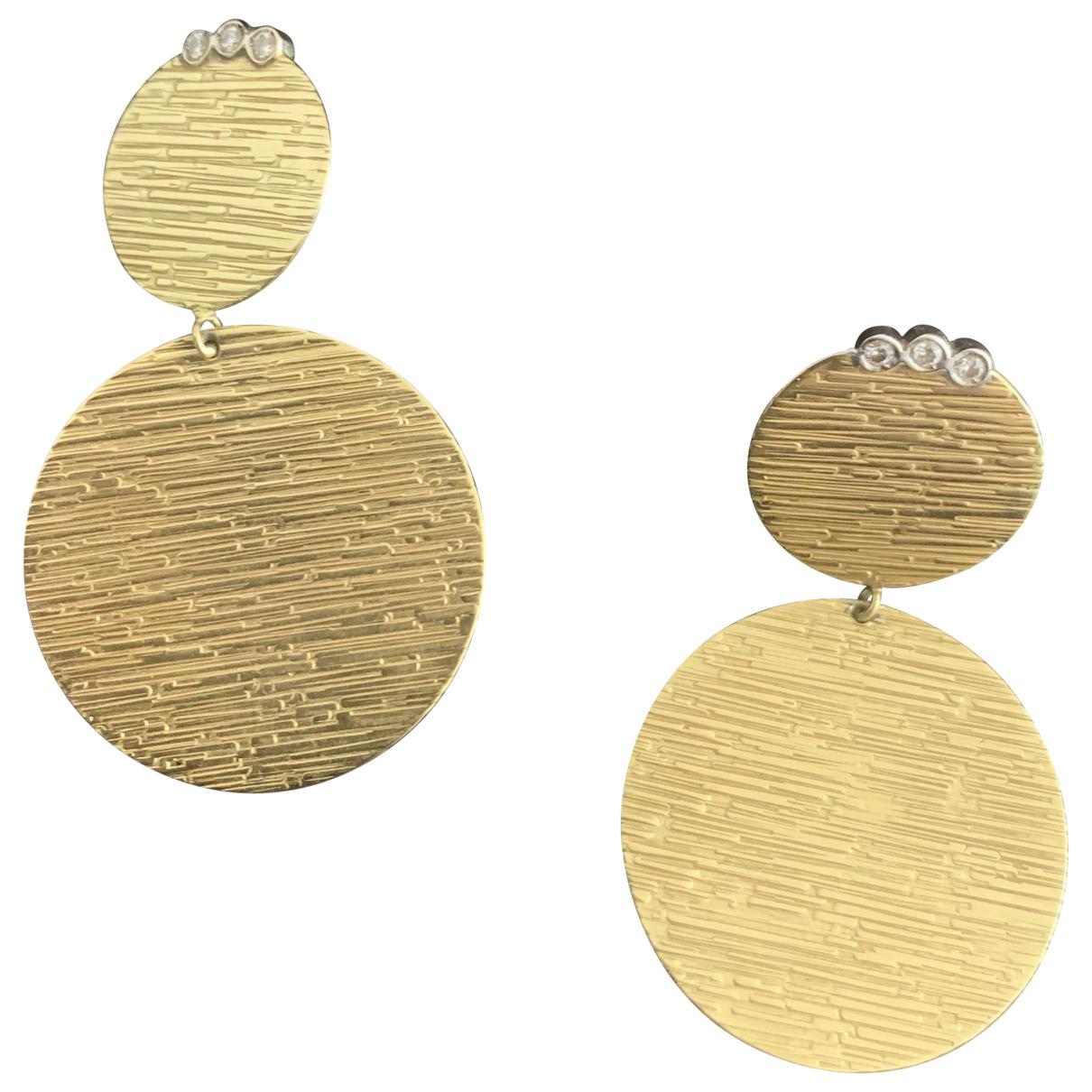 Roberto Coin - Boucles doreilles   pour femme en or jaune - dore