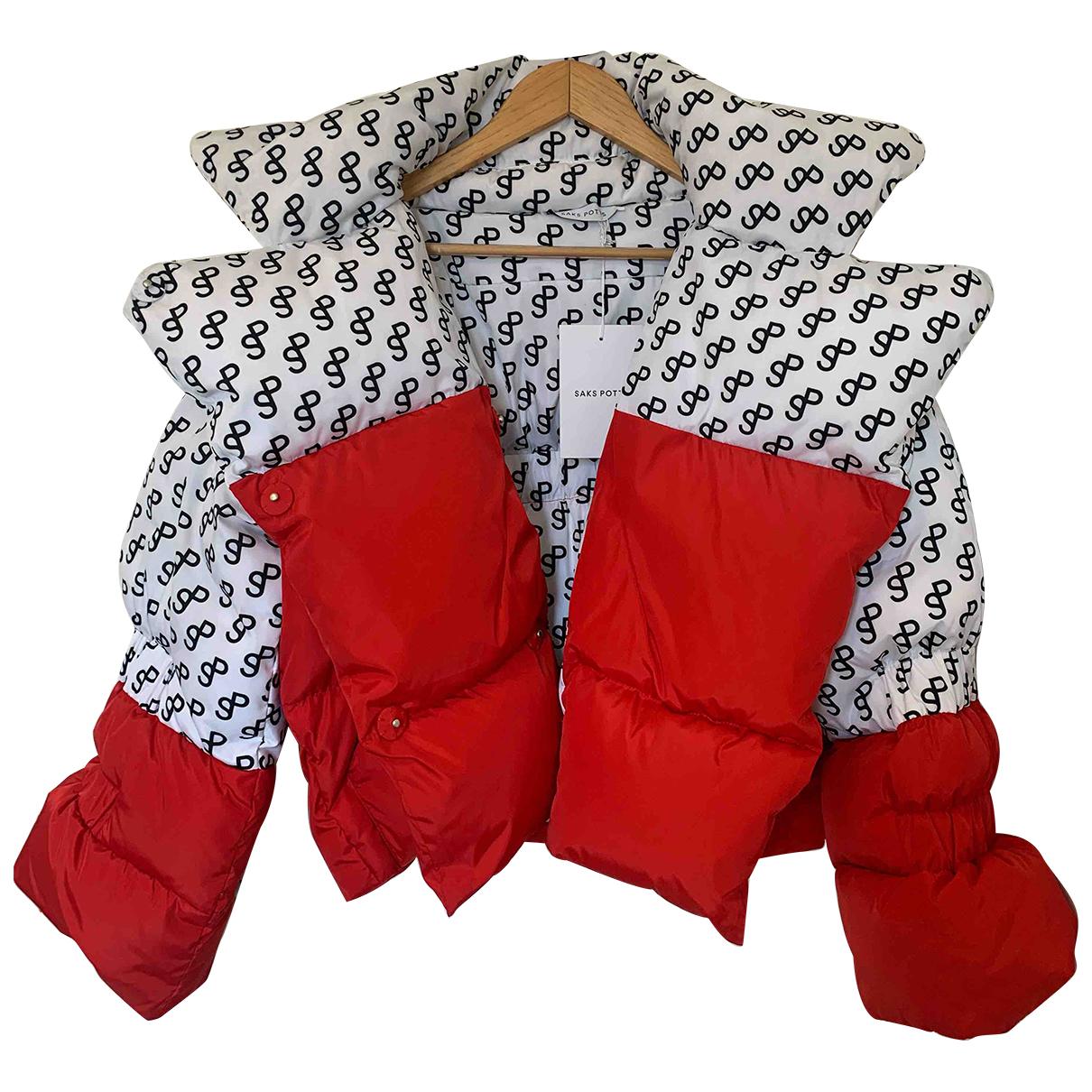 Saks Potts \N Maentel in  Bunt Polyester