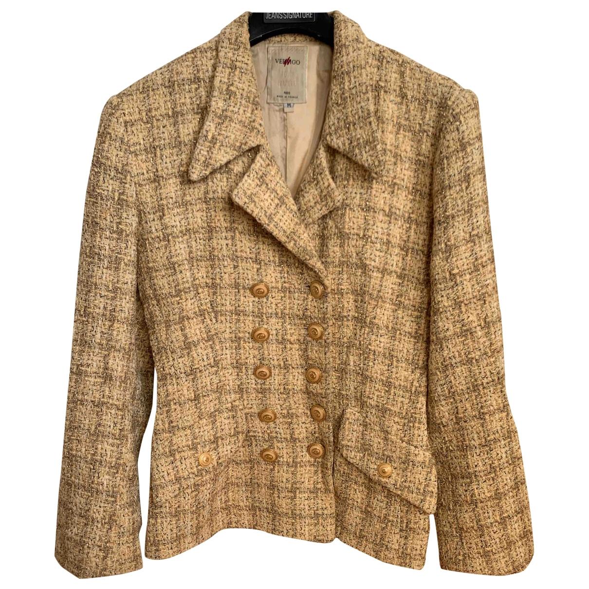 - Veste   pour femme en coton - metallise