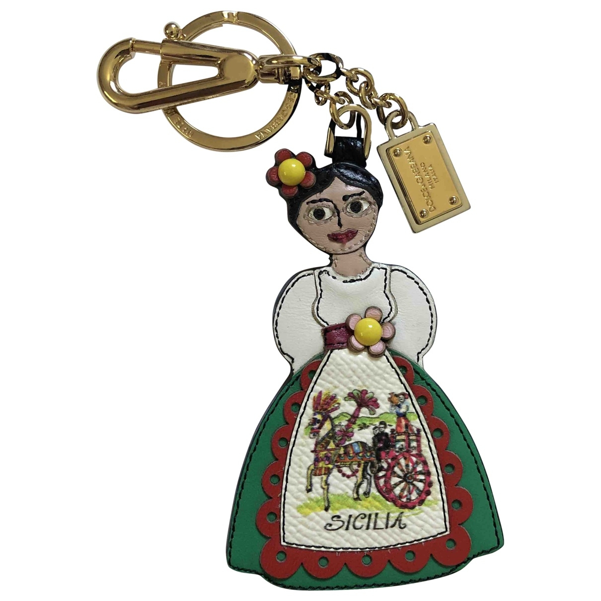Dolce & Gabbana \N Multicolour Leather Bag charms for Women \N