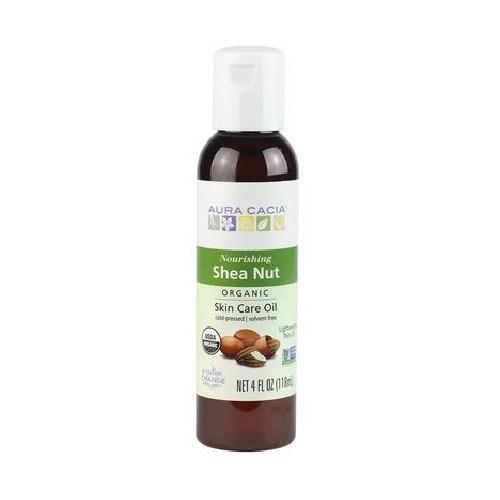 Organic Shea Nut Body Oil 4Oz by Aura Cacia