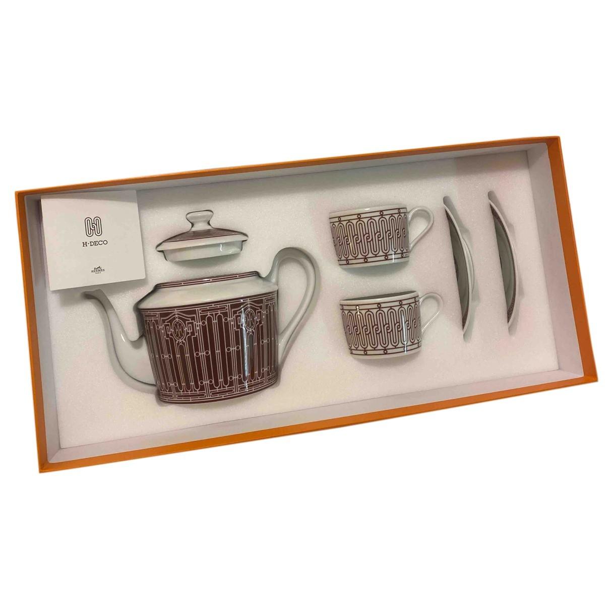 Juego de te/cafe H Deco de Porcelana Hermes