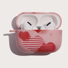 Funda de airpods con corazon