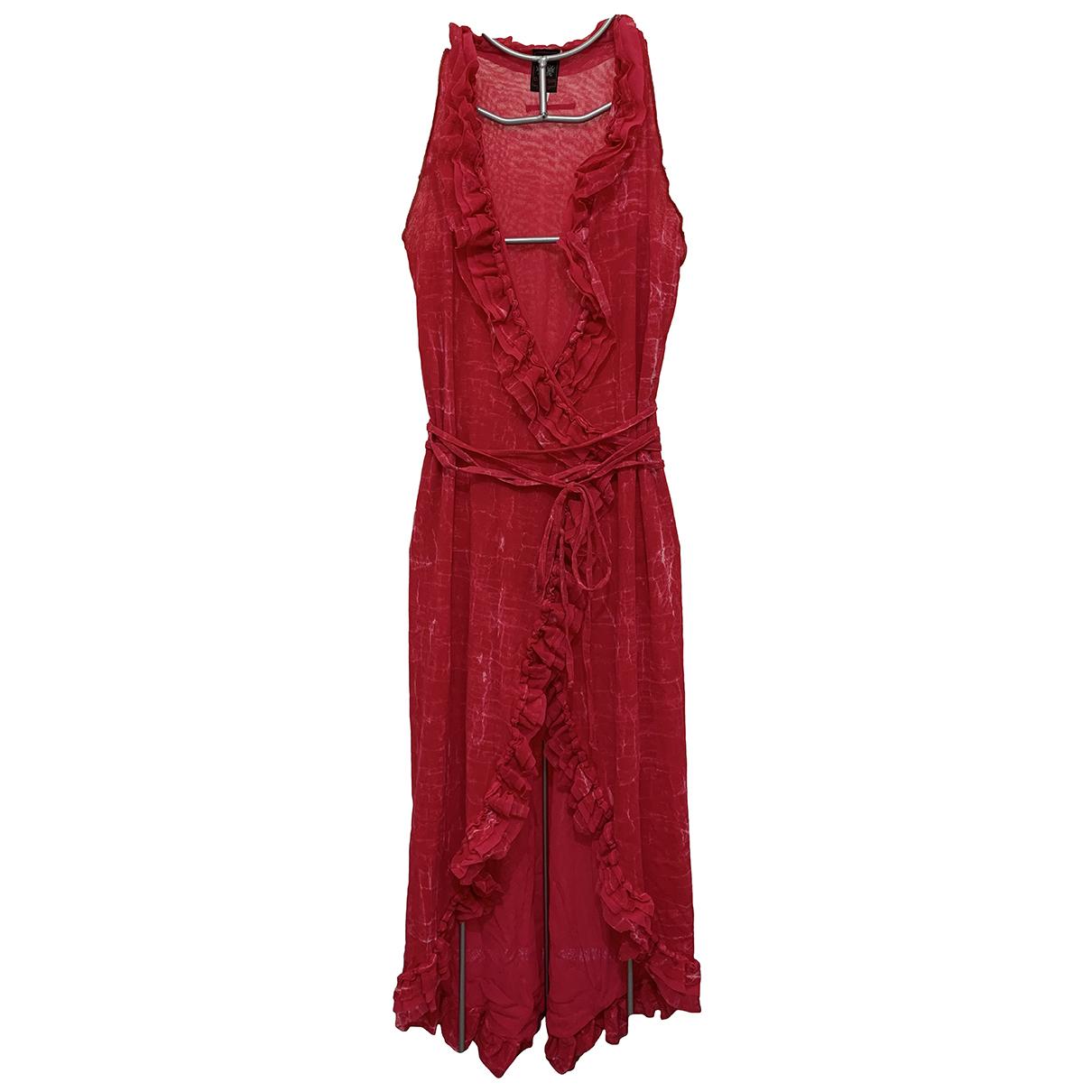Jean Paul Gaultier \N Kleid in  Rosa Synthetik