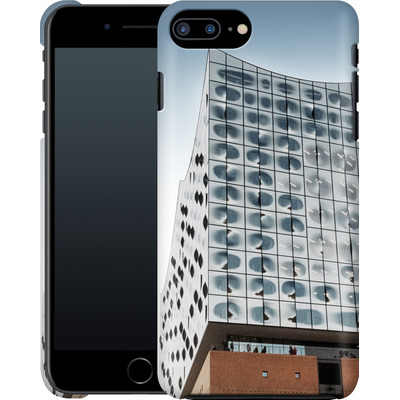 Apple iPhone 8 Plus Smartphone Huelle - Elbphilharmonie von caseable Designs