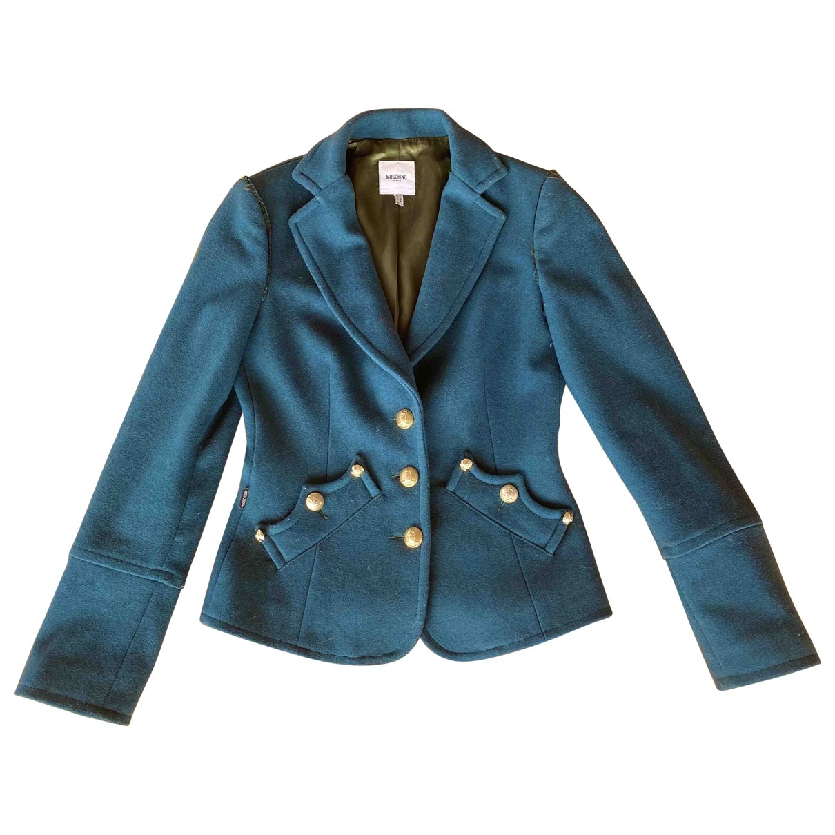 Moschino Cheap And Chic \N Green Wool jacket for Women 38 FR