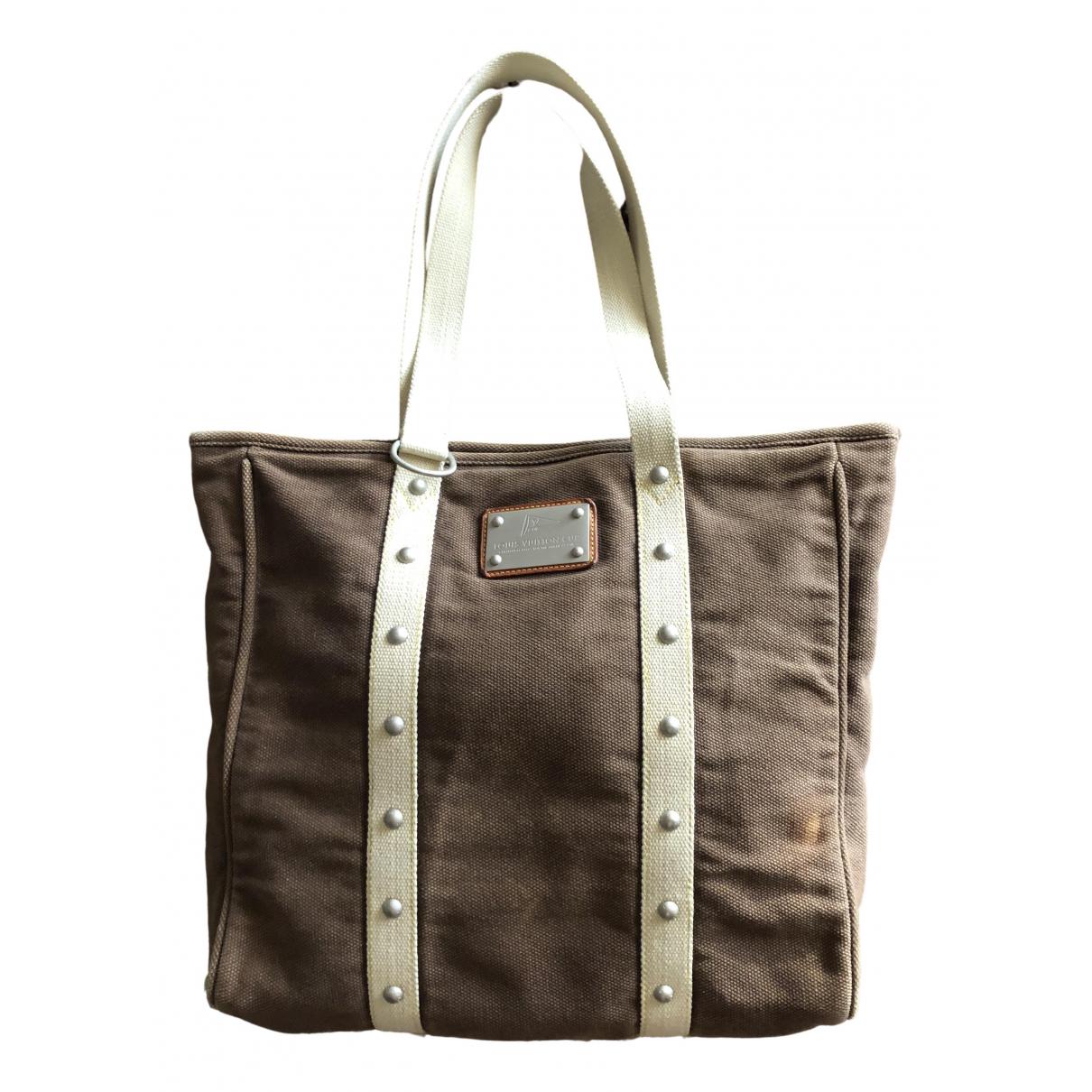 Louis Vuitton Antigua Brown Cloth handbag for Women \N