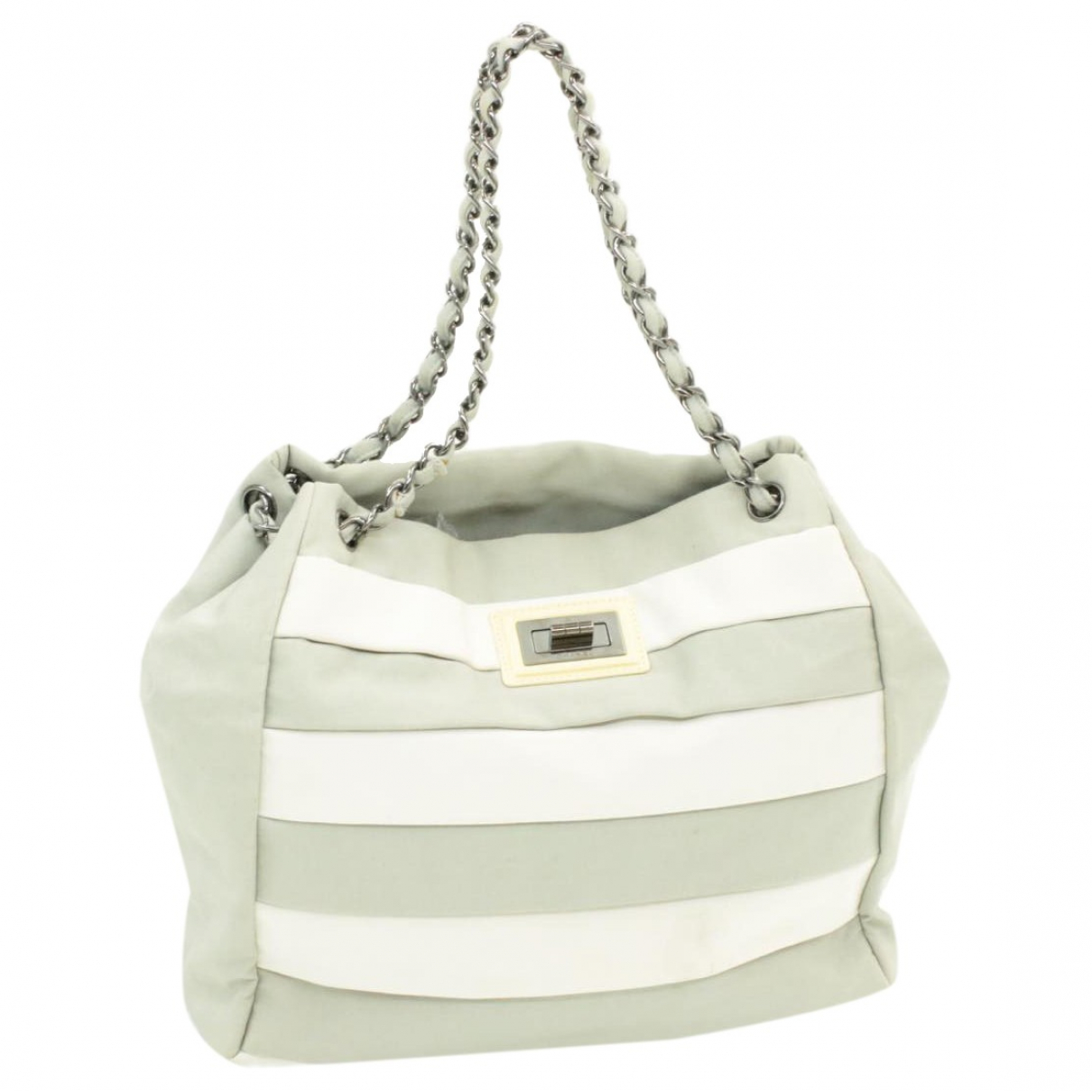 Chanel \N Grey Cloth handbag for Women \N