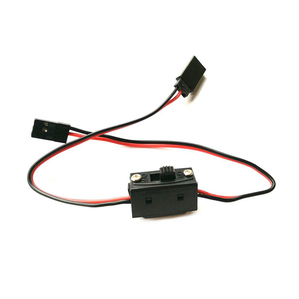 30cm Extension Cable With Switch For ESC Servo Receiver RC Airplane Racing Drone