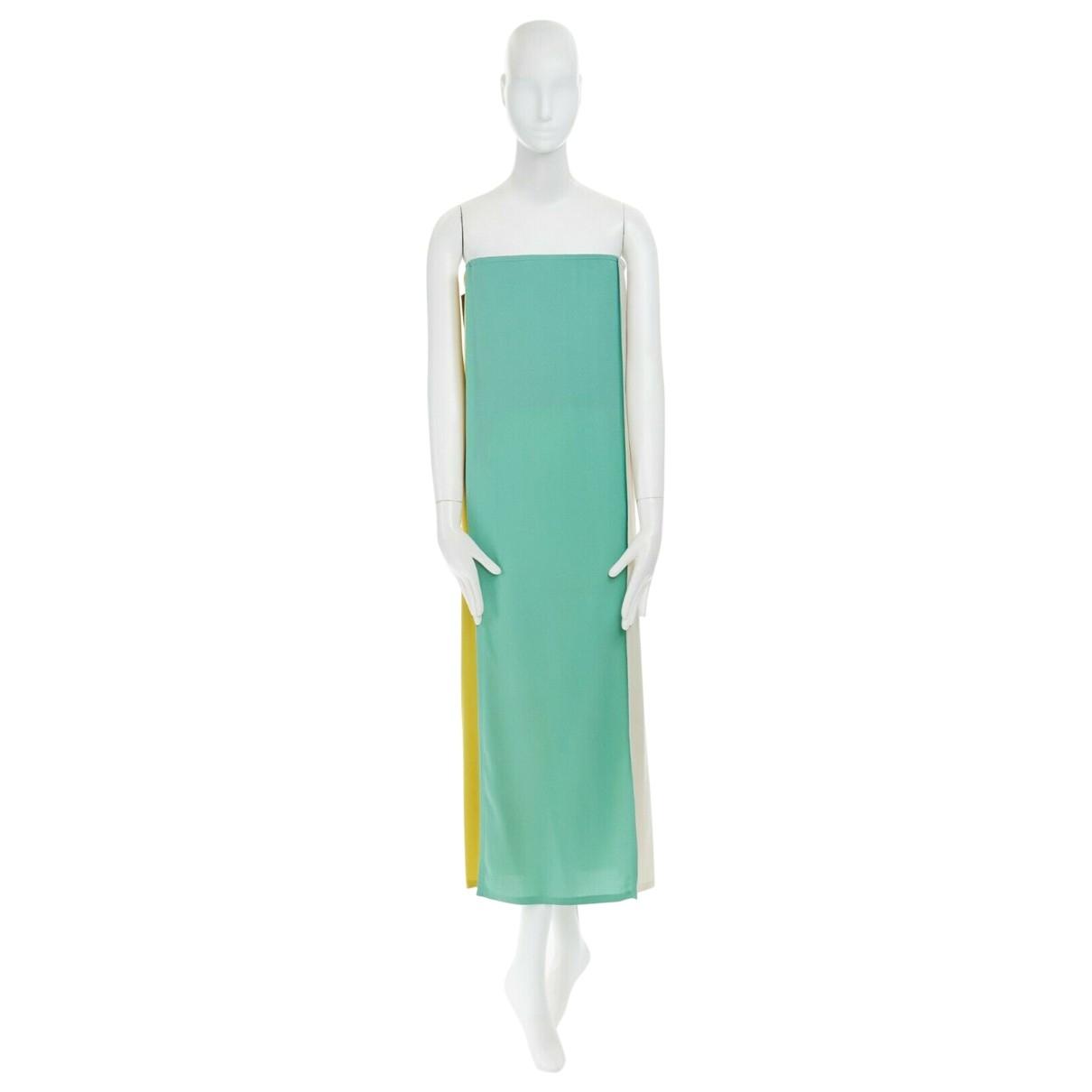 Jean Paul Gaultier \N Kleid in  Bunt Veloursleder