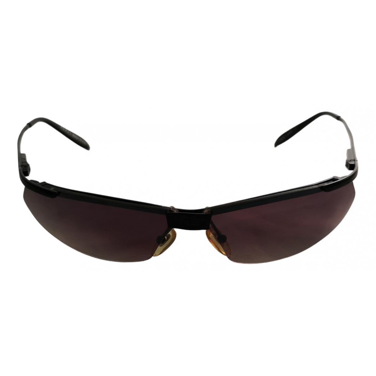 Gucci N Black Metal Sunglasses for Men N