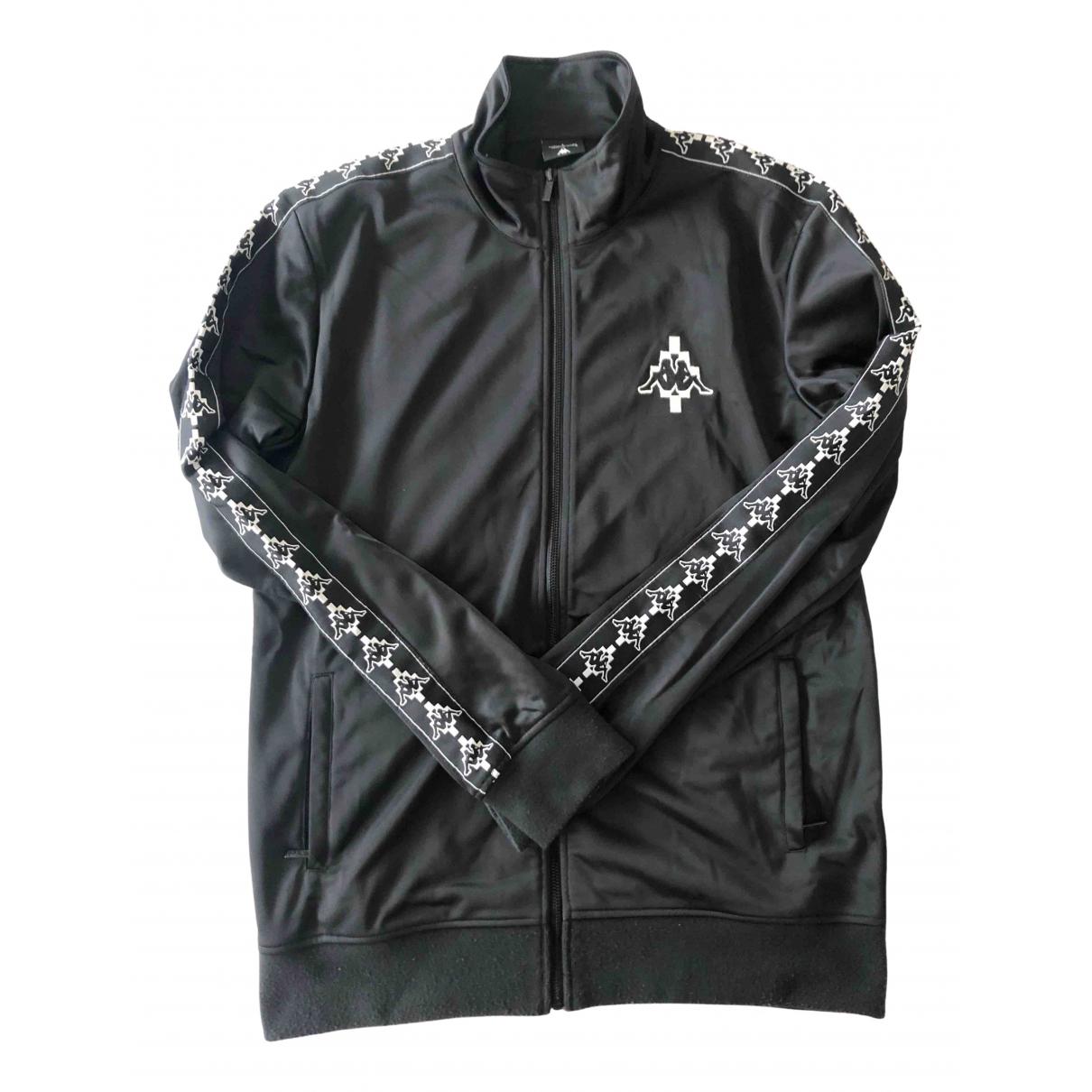 Marcelo Burlon \N Pullover.Westen.Sweatshirts  in  Schwarz Polyester