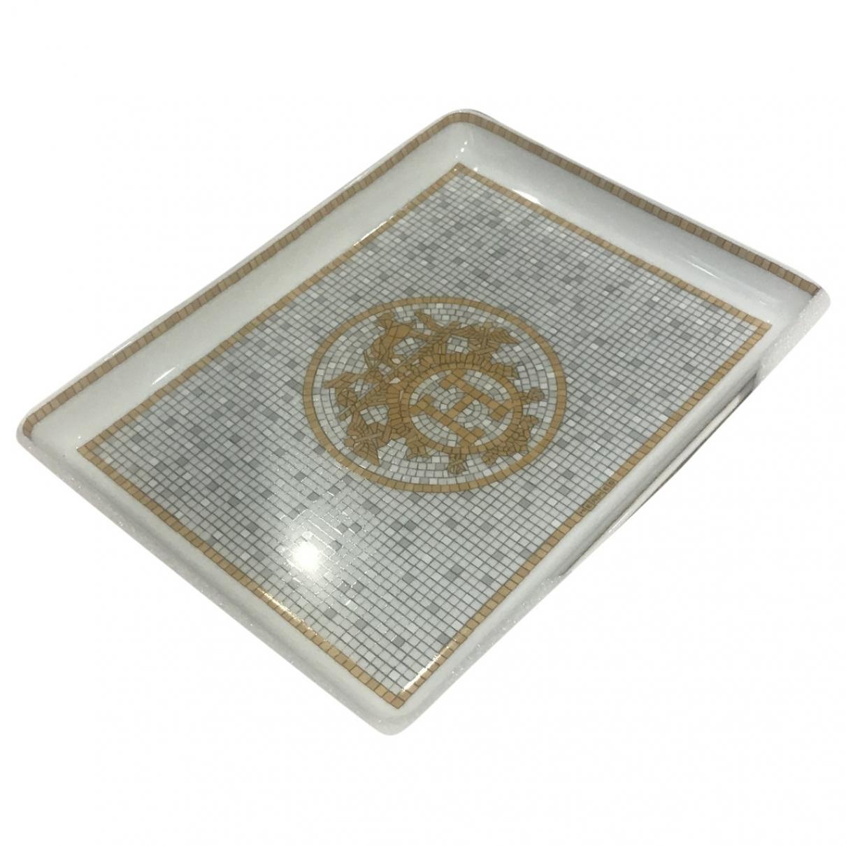 Hermès Mosaïque au 24 Gold Ceramic Dinnerware for Life & Living \N