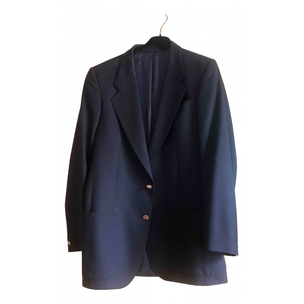 Lanvin \N Blue Wool Suits for Men L International