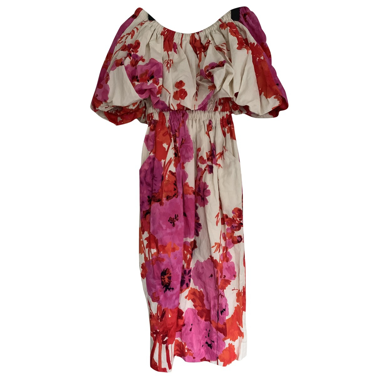 Dries Van Noten \N Kleid in Baumwolle