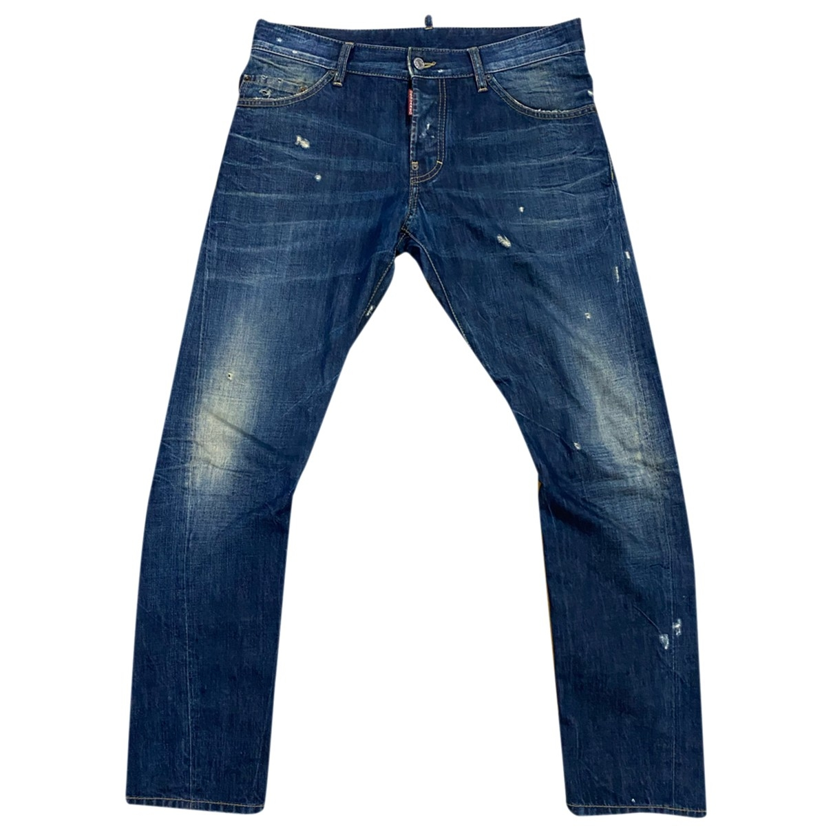 Dsquared2 \N Navy Cotton Jeans for Men 32 US