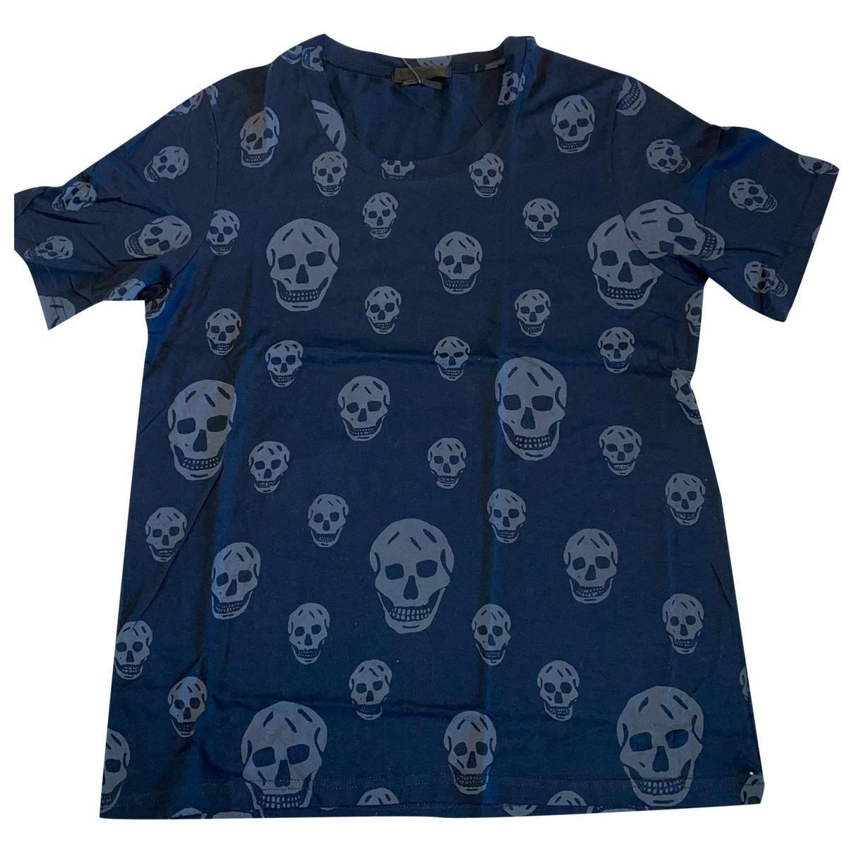 Alexander Mcqueen \N Black Cotton T-shirts for Men S International