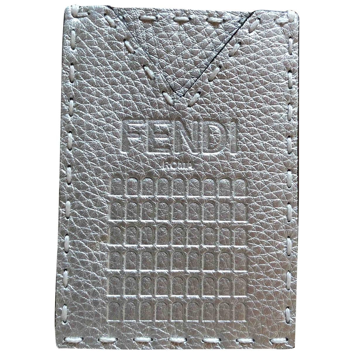 Fendi - Objets & Deco   pour lifestyle en cuir - gris