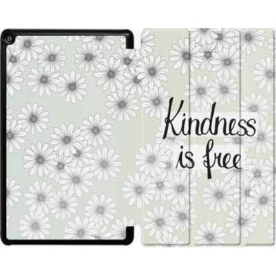 Amazon Fire HD 10 (2017) Tablet Smart Case - Kindness is Free von Barlena