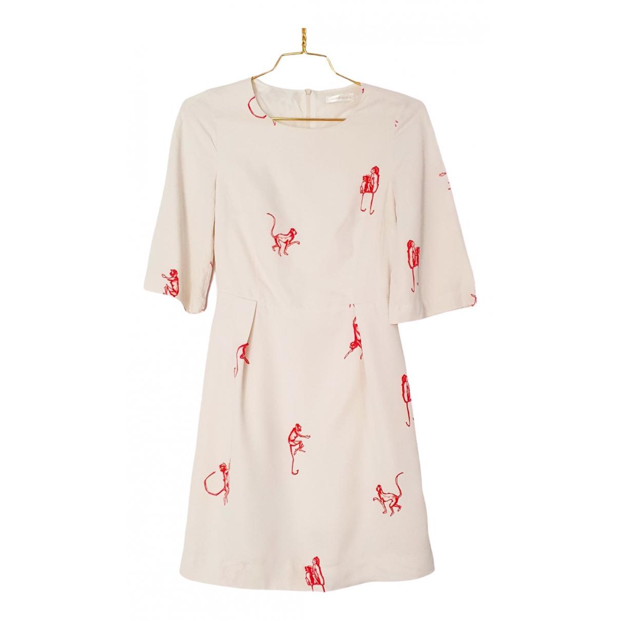 Stine Goya - Robe   pour femme en coton - blanc